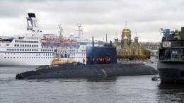Новейшая подлодка Тихоокеанского флота вышла наиспытания вБалтийское море