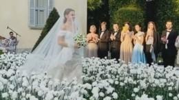 «Невеста беременная?» Соцсети обсуждают видео сосвадьбы Дарьи Клюкиной