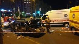 Массовая авария произошла смаршруткой вПетербурге, есть пострадавшие