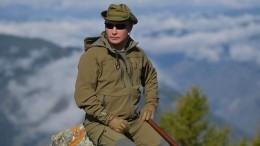 «Счастья ипроцветания»: Как Владимира Путина поздравили с67-летием