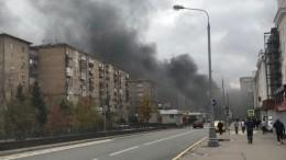 Автобус спассажирами загорелся втоннеле насеверо-западе Москвы