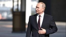 «Гроссмейстер глобальной политики»: Путин принимает поздравления сднем рождения