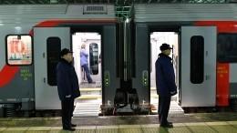 Специалисты ненашли радиации впришедшем поезде изБерлина вМоскву