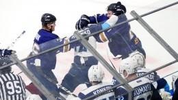 Ледовое побоище: хоккеисты МХЛ устроили массовую драку вовремя матча