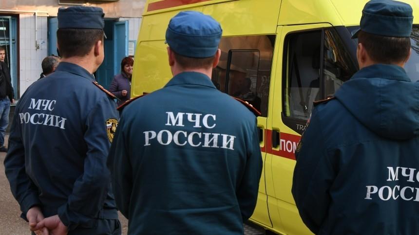 Наместе ДТП савтобусом наюго-востоке Москвы существует угроза взрыва газа