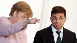 Меркель иЗеленский оценили возможность встречи в«нормандском формате»