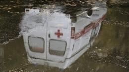 ВСаратове машина скорой помощи спациентом перевернулась после ДТП