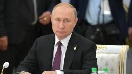 Путин: Зеленский неможет обеспечить развод сил итехники вДонбассе