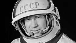 Первый воткрытом космосе: умер Алексей Леонов