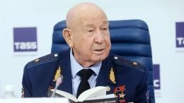 Стали известны дата иместо похорон советского космонавта Алексея Леонова