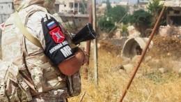 Намаршруте патруля российской военной полиции вСирии прогремел взрыв