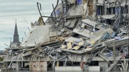 Строящаяся гостиница обрушилась вНовом Орлеане— видео