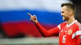 Черышев открыл счет вматче «Россия— Кипр» наотборе Евро-2020