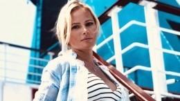 Стеснительная Дана Борисова выложила фото вкупальнике