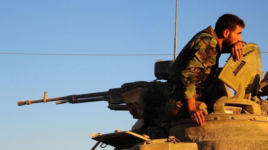 Советник Эрдогана неисключил столкновений между армиями Турции иСирии