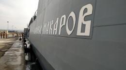 «Адмирал Макаров» продемонстрировал скорострельную стрельбу вСредиземном море