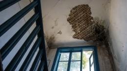 Ужильцов аварийного дома наУрале чиновники грозятся отобрать детей