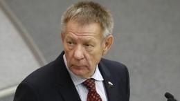 Депутата Госдумы Николая Герасименко, сбившего мотоциклиста, хотят лишить неприкосновенности
