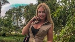 Дарья Пынзарь вкупальнике предложила поклонникам сыграть вигру