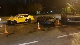 Что рассказали очевидцы оДТП сучастием Porsche итакси наюго-западе Москвы