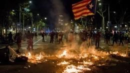Российские туроператоры отменяют экскурсии вБарселону из-за протестов