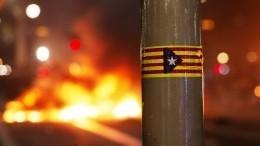 ВКаталонии началась всеобщая забастовка