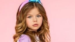 «Барби!» Шестилетнюю москвичку назвали самой красивой девочкой вмире
