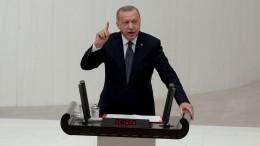 Эрдоган опроверг заявления курдов осрыве перемирия вСирии