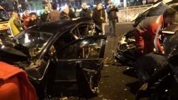 Страшная авария спострадавшими произошла вПетербурге