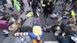 Арестуй меня, тысможешь: зачем экоактивисты Британии устраивают массовые лежания наулицах