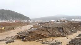 ВКрасноярском крае была разрушена неодна, адве дамбы