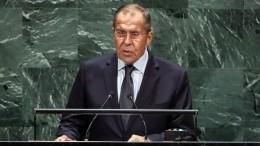 Лавров рассказал ометодах современной дипломатии Вашингтона