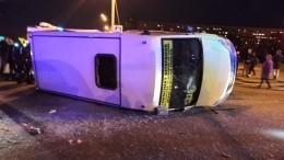 Трое детей пострадали ваварии савтобусом итрамваем вПетербурге— фото