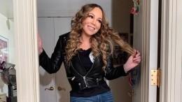 Похудевшая 49-летняя Мэрайя Кэри показала фигуру вполупрозрачном платье