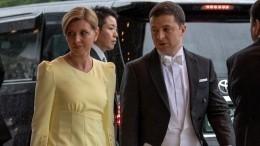 Стилист раскритиковала наряд Елены Зеленской нацеремонии интронизации императора Японии