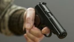 Видео: Момент нападения пассажира спистолетом накондуктора вПетербурге
