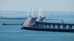 Строители провели испытания железнодорожной части Крымского моста