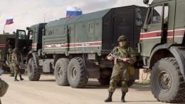 Военная полиция РФприступила кпатрулированию сирийско-турецкой границы