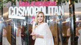 Напремии Cosmopolitan Гагариной вручили ееминиатюрную копию ввиде Barbie