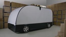 Прототип беспилотного шаттла-грузовика представили вПетербурге