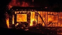 Мощный лесной пожар угрожает жилым районам Сан-Франциско
