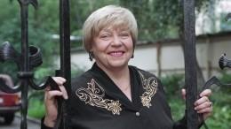 Написавшая для Пугачевой песню «Водяные далешие» поэтесса умерла вМоскве