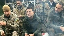 «Янелох какой-то»: Зеленский «конкретно» пообщался снационалистами вДонбассе