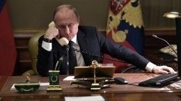 Путин иМакрон обсудили потелефону меморандум поСирии