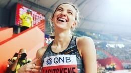 Мария Ласицкене признана лучшей легкоатлеткой года вЕвропе