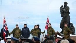 Видео: вНорвегии досих пор помнят подвиг советских солдат вовремя Петсамо-Киркенесской операции