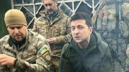 Националисты пригрозили Зеленскому привести 10 тысяч ветеранов вЗолотое