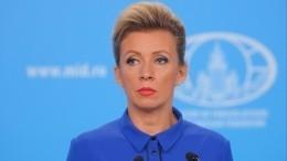 Захарова прокомментировала заявление Билецкого после визита Зеленского вЗолотое