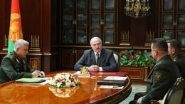 Лукашенко пригрозил ответить наразмещение американских танков вЛитве