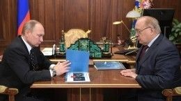 Садовничий рассказал Путину опроектах МГУ вРоссии ивмире